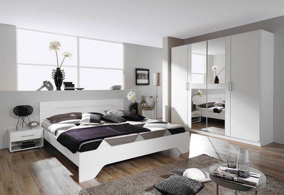 rauch SchlafzimmerSet »Rubi«, Set inkl. Schrank, Bett und