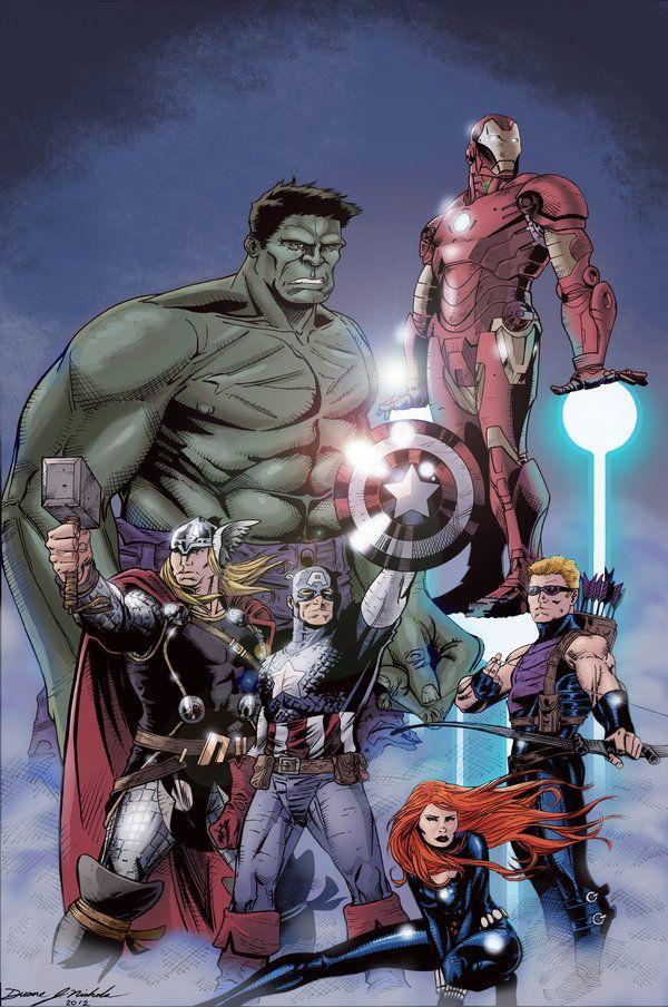 #Avengers #Fan #Art. (Avengers_pinup) By: Duanenicholsart. (THE * 5 * STÅR * ÅWARD * OF: * AW YEAH, IT'S MAJOR ÅWESOMENESS!!!™)[THANK U 4 PINNING!!!<·><]<©>ÅÅÅ+(OB4E)           https://s-media-cache-ak0.pinimg.com/474x/47/6e/6d/476e6d8c75e8d54a485924fb17e57836.jpg