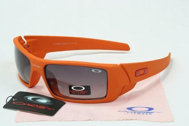 028451e7429bb low-cost Oakley Gascan Sunglasses matte orange frames purple lens ...