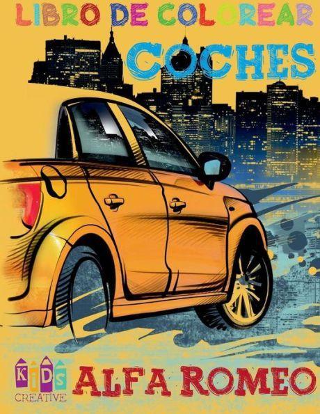 Autos Alfa Romeo para colorear ~ páginas de actividades para niños ...