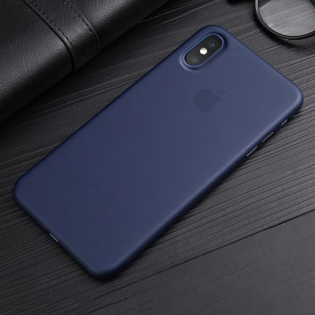 huge discount 3a070 08b3a Ultra Thin Translucent Case for iPhone X in 2019 | Products | Iphone ...