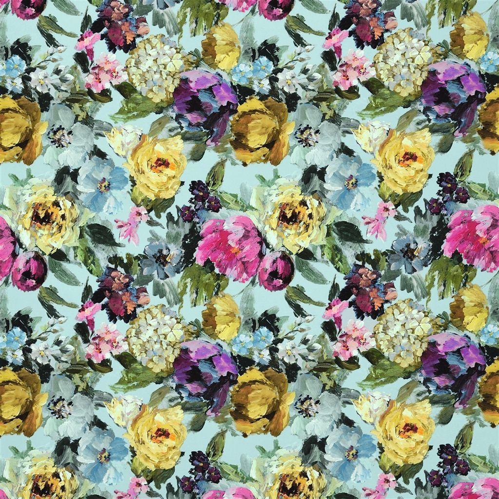 roseto celadon fabric Designers Guild Designers
