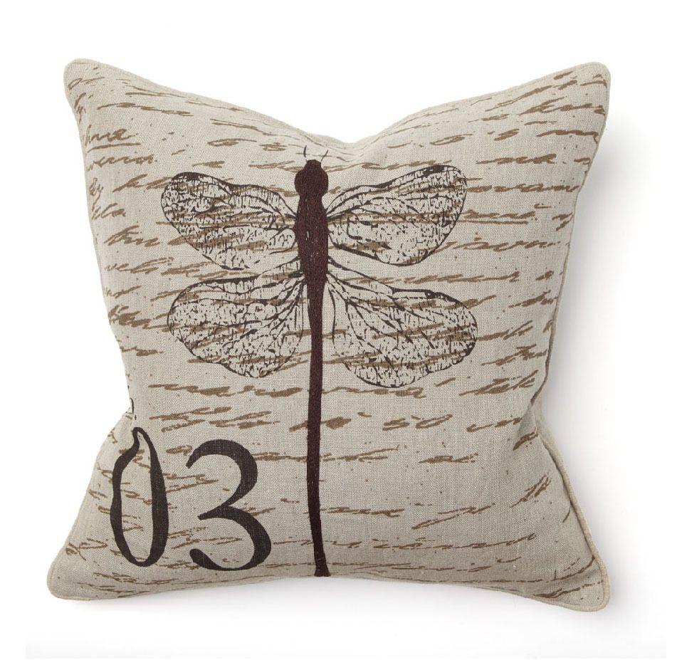 Aqua The Pillow Collection Nkan Dragonfly Pillow