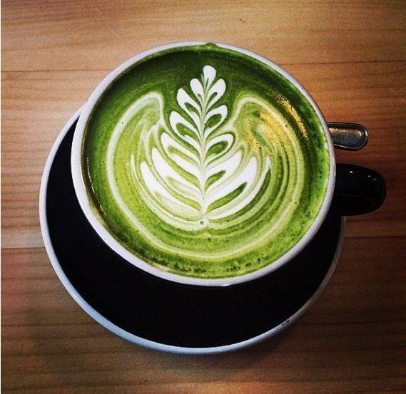Coffee Latte Art, Matcha Green Tea Latte, Coffee Art