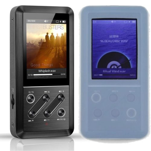 FiiO-X3-Portable-Music-Player-APE-FLAC-ALAC-WMA-WAV-HS3A-Blue-Silicone-Case
