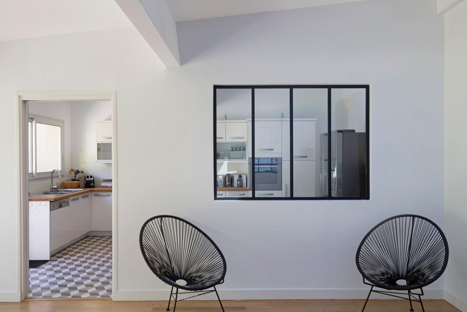 Chassis Atelier D Artiste verrière atelier d'artiste de séparation entre cuisine et un