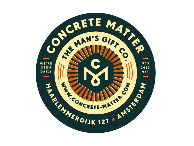 Concrete Matter Label. by Tim Boelaars
