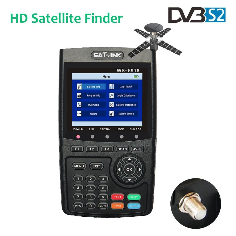 Satlink WS-6916 Satfinder HD DVB-S2 FTA C&KU Band Digital