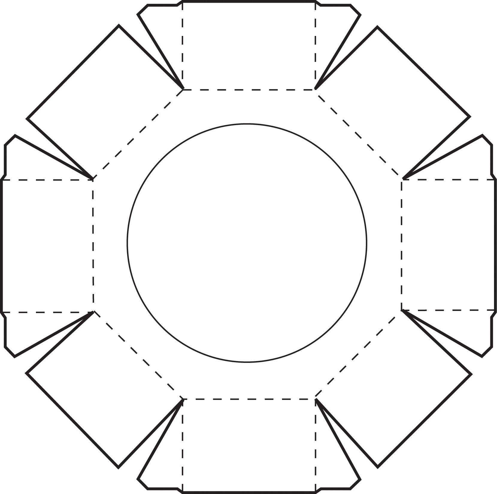 Octagon Box Bituin Air Box Origami Box Hexagon Box
