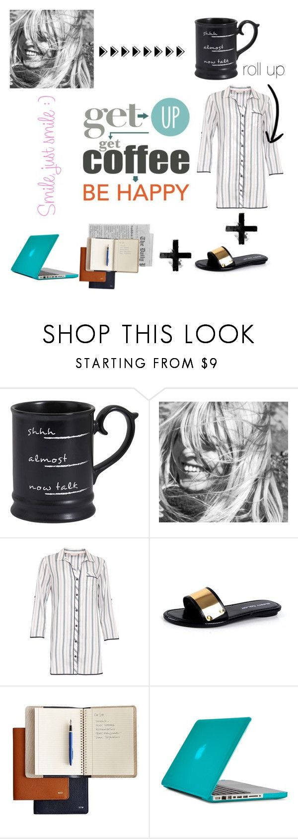 """B U T   F I R S T , C O F F E E"" by gabrielleleroy ❤ liked on Polyvore featuring Expresso, Pier 1 Imports, Cyberjammies, Mark & Graham, Speck, contest, polyvoreeditorial and coffeebreak"