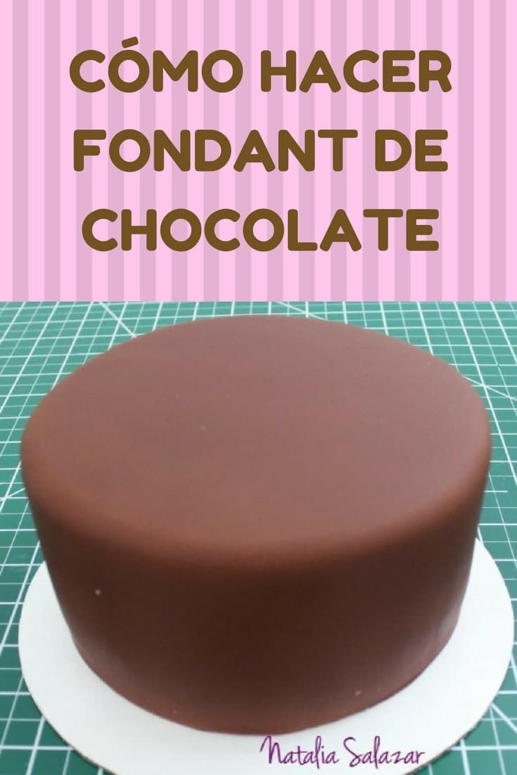 Como Hacer Fondant De Chocolate Cake Decorating Chocolate Fondant Easy Cake Decorating