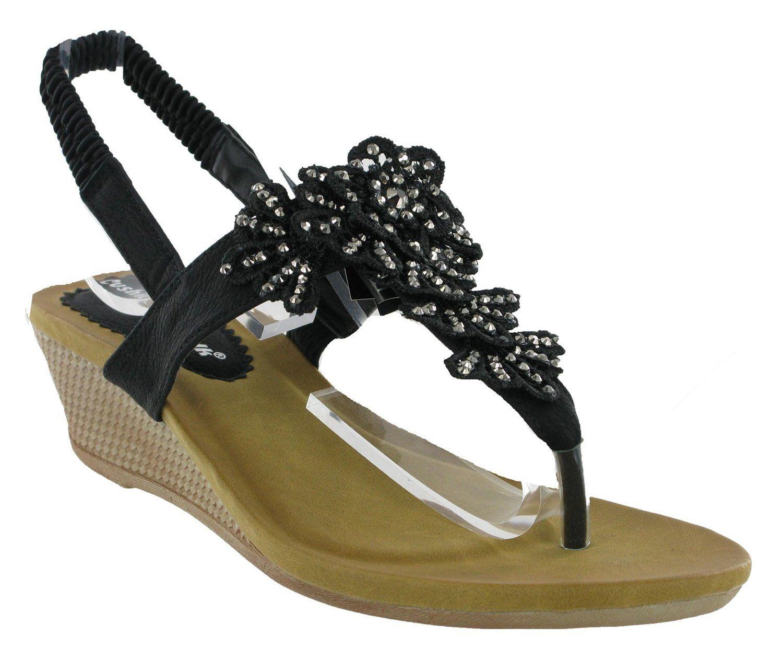 Summer Sandals Wedge Shoes UK
