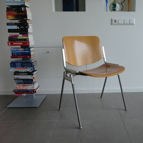 Chaise Italienne Castelli Concue Par Giancarlo Piretti Etsy Retro Chair Ikea High Chair Italian Chair