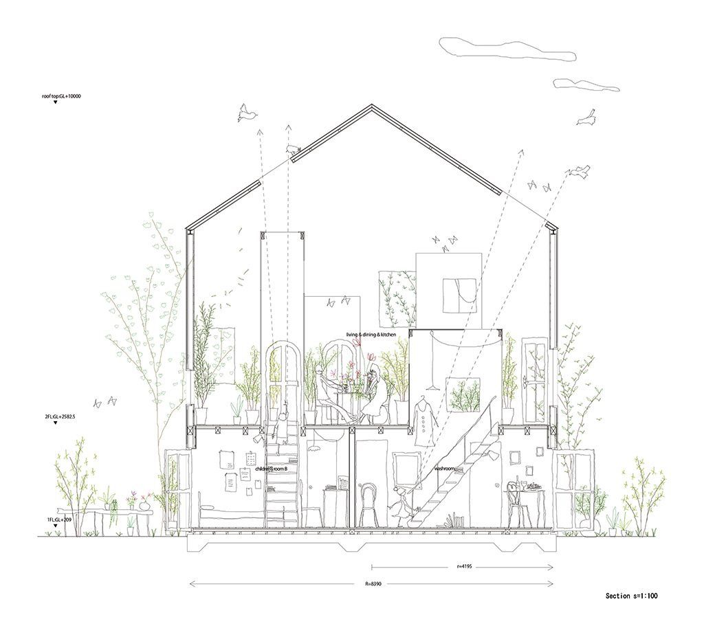 Architecture Drawing Of House pinlycnmos on 【architecture drawing】 | pinterest