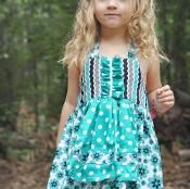 Apron Dress Girls  Dress Sewing Pattern - via @Craftsy