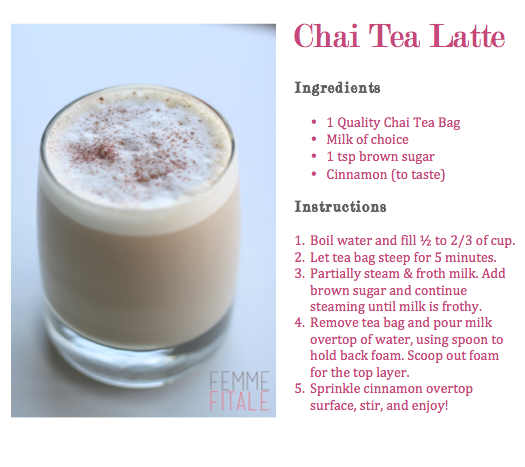 Tea Latte Recipe, Chai Tea Recipe