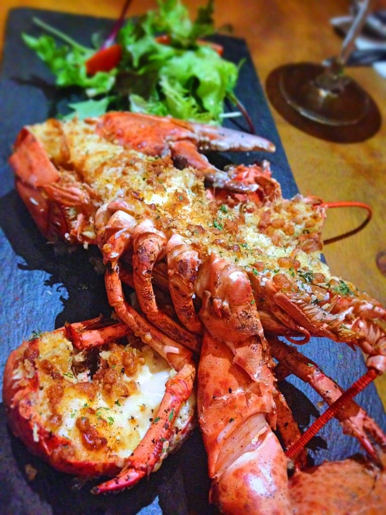 Baby Boston Lobster. For more food photos and full review