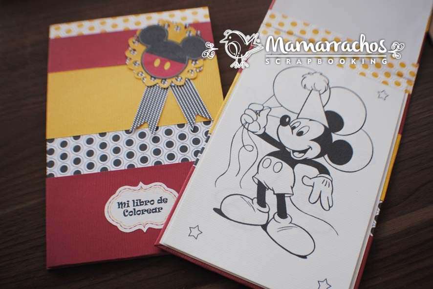 Libro de Colorear Mickey Mouse