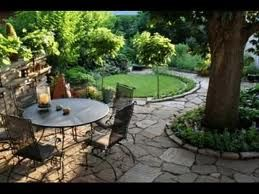 Superior Garden, Dainty Small Garden Ideas Frontyard And Backyard Inspirations:  Inspiring Small Yard Landscaping Ideas With Small Patio Design And Rounded  Outdoor ...