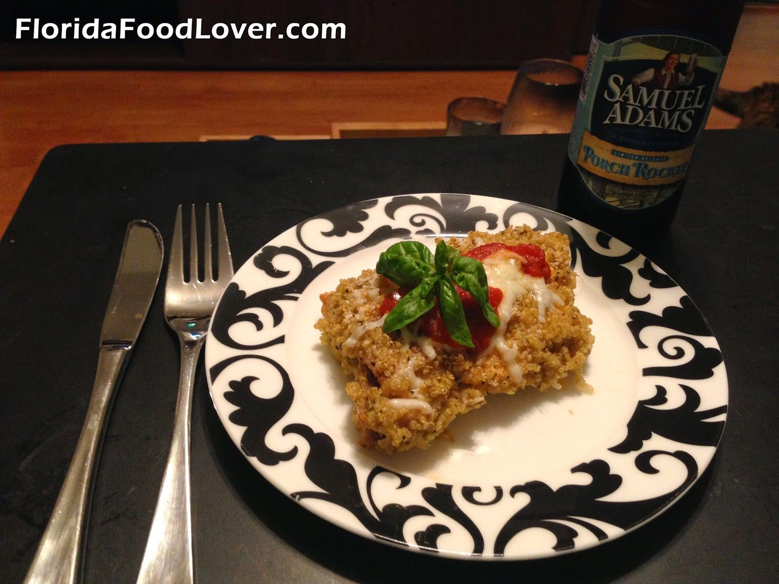 Quinoa chicken parmesan florida food lover florida food lover quinoa chicken parmesan florida food lover forumfinder Choice Image