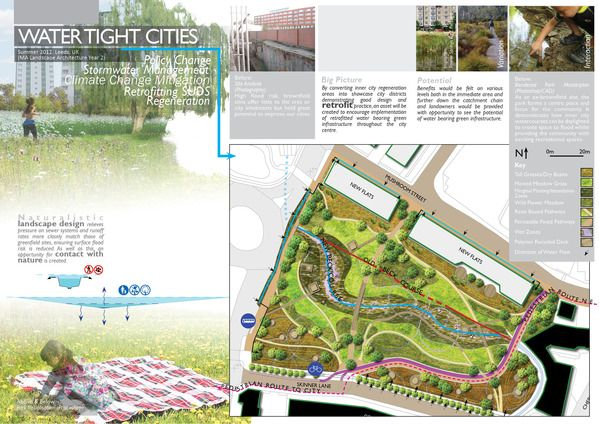 Landscape architecture portfolio samples by mike green for Sample landscape design