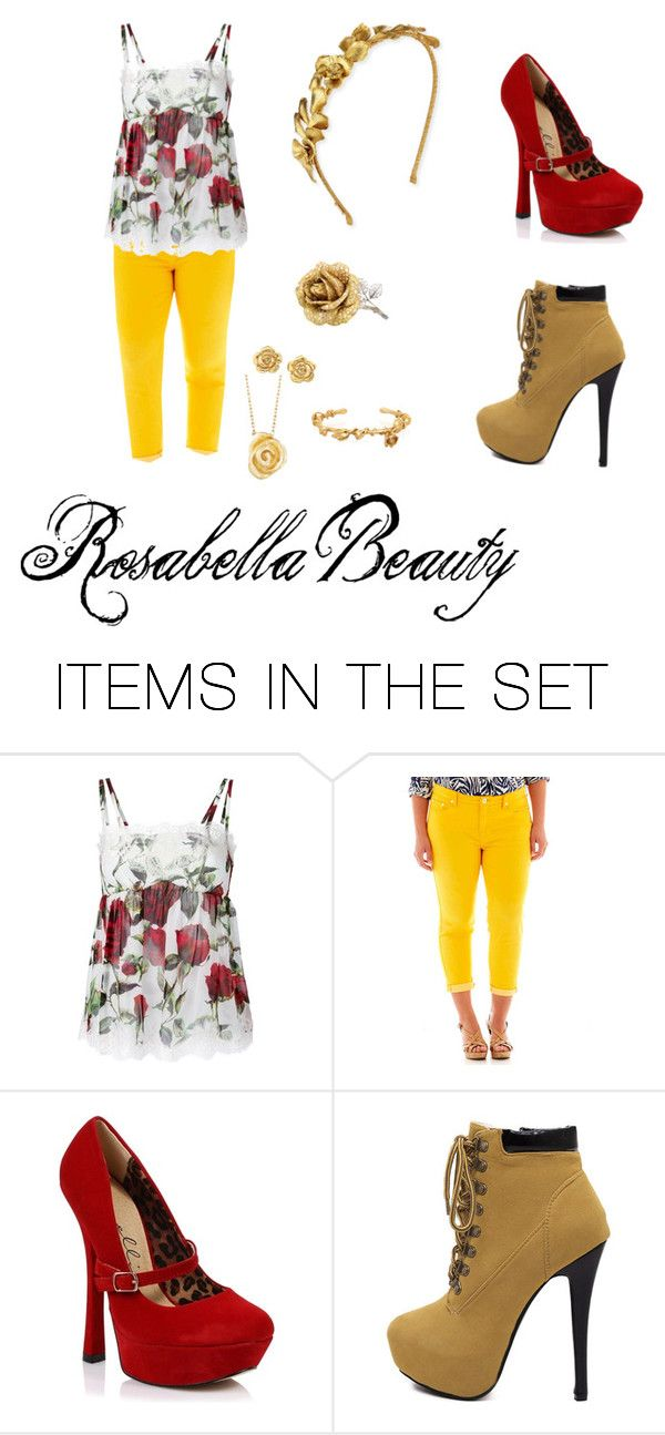 """""""Rosabella Beauty"""" by ludwigh-veneziano on Polyvore featuring art"""