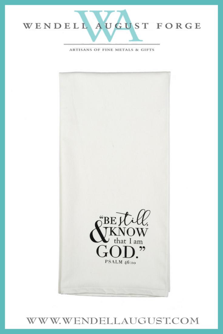10 Tea Towel Be Still PS 46