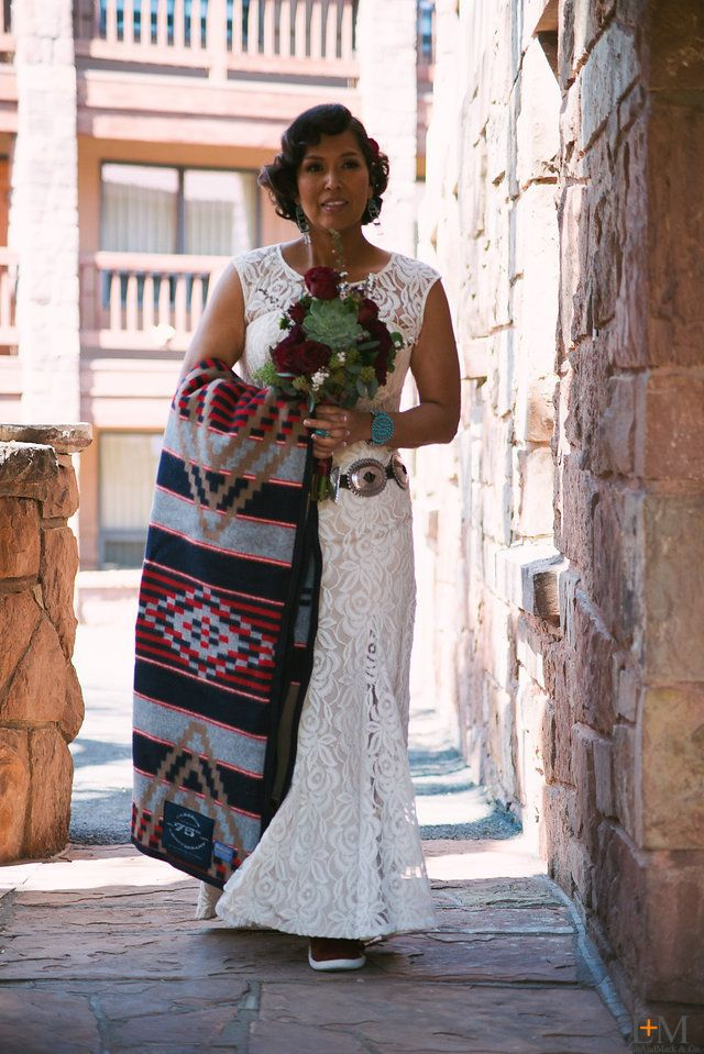 Arizona Wedding Navajo Indian Native American Reservation