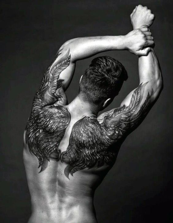 Top 50 Best Back Tattoos For Men Ink Designs And Ideas Back Tattoos For Guys Wing Tattoo Men Cool Back Tattoos