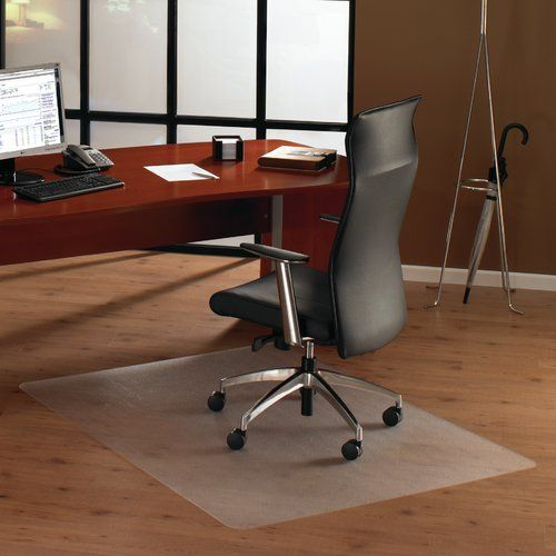 Cleartex Unomat Hard Floor Straight Rectangular Chair Mat Chair