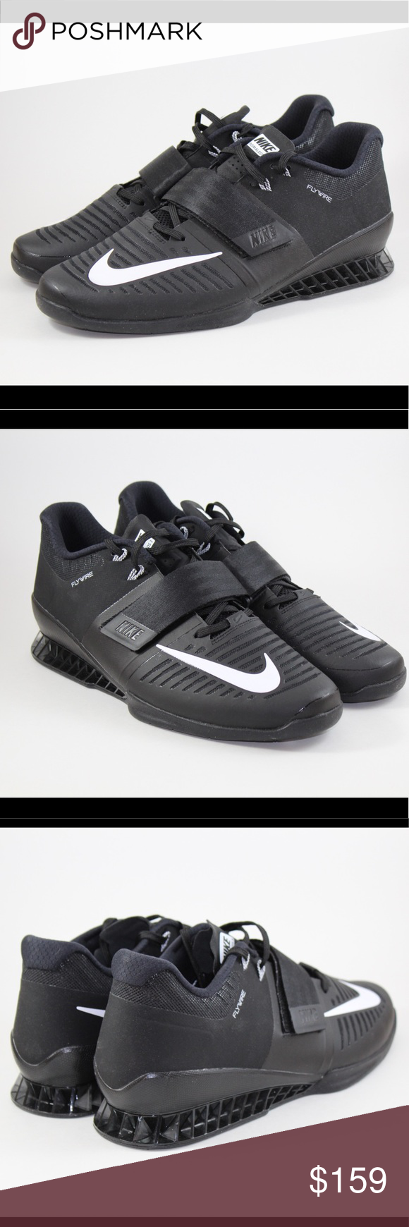 5cd0c0244928 ... Nike Romaleos 3 Weightlifting Trainer Shoe Brand New Nike Romaleos 3 Weight  lifting Shoe Black white ...