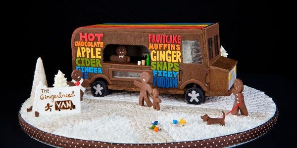 If Youu0027re Not Quite Ready To Commit, You Could Always Start With A  Gingerbread Truck And Go From There.