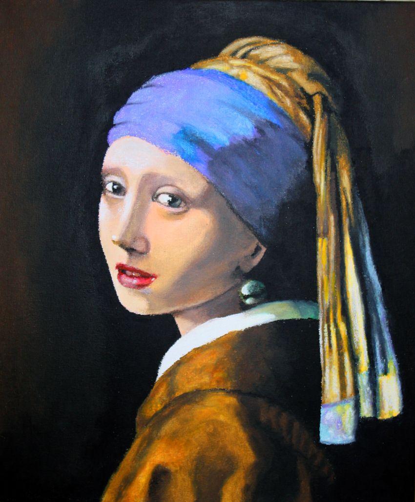 recinto Tierras altas techo  La joven de la perla, también conocida como Muchacha con turbante, La Mona  Lisa holandesa y La Mona Lisa del norte, es una de las obras mae… | Art,  Painting, Pearls