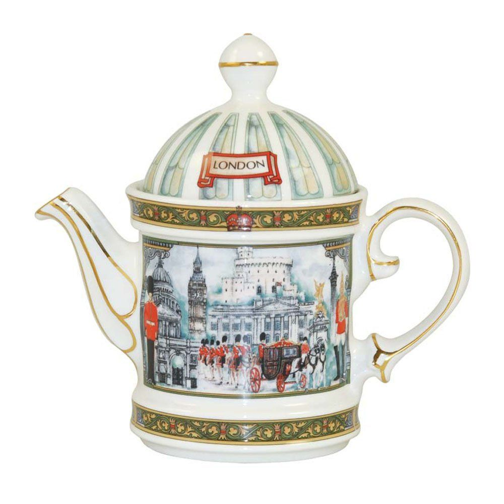 Teekannen Set Churchill China James Sadler Teekanne Horseguards Pferdewächter