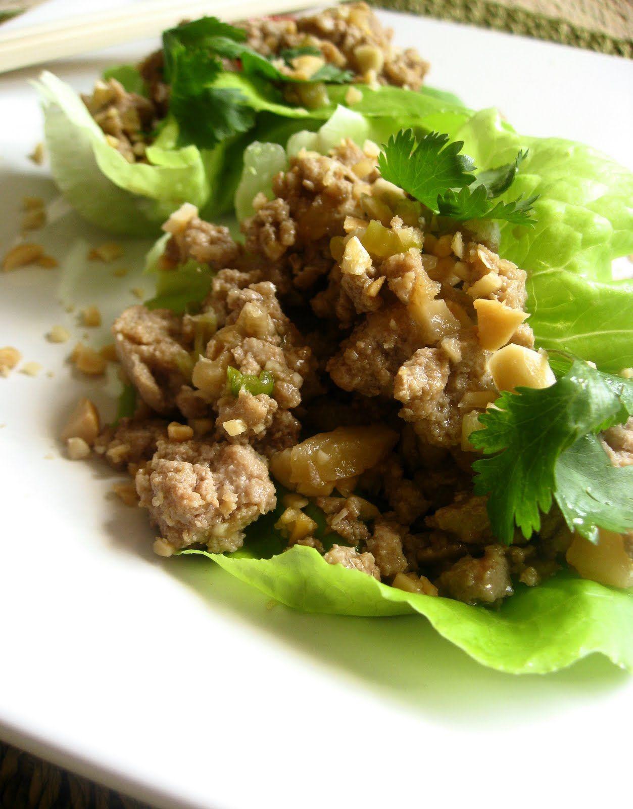 Healthy Asian Lettuce Wraps » Jessie Monds
