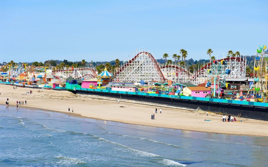 Santa Cruz Beach Boardwalk The 15 Best Beaches In California Travel Leisure