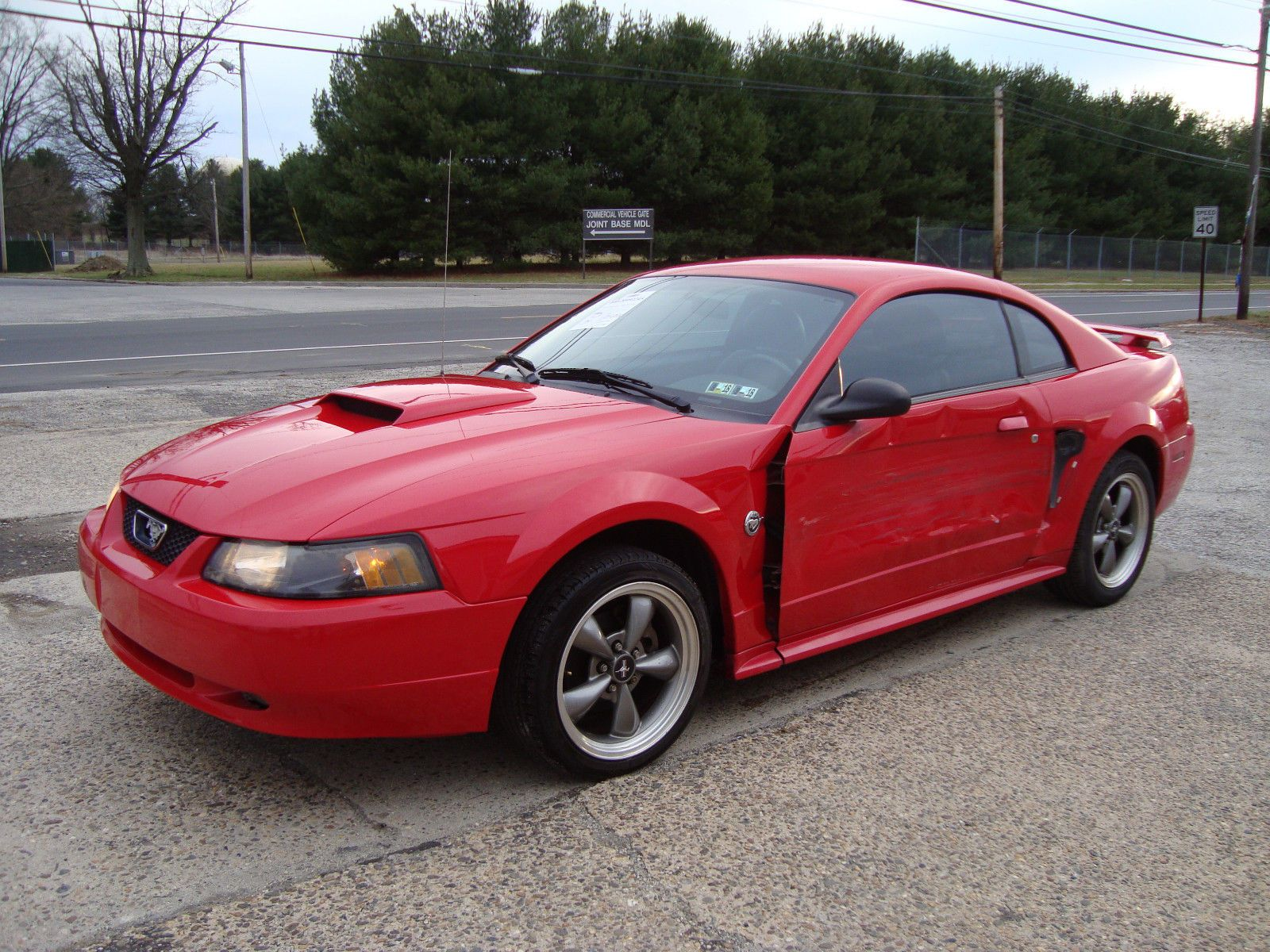 Ebay 2004 ford mustang gt 40th anniversary salvage rebuildable repairable ford mustang gt 40th anniversary