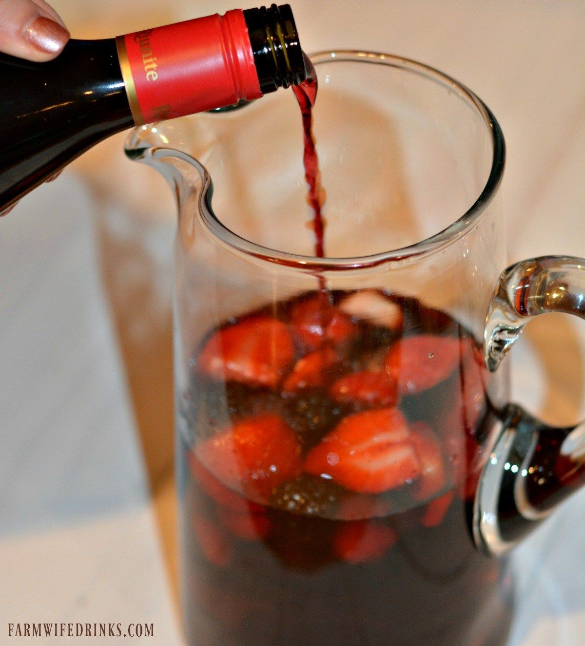 Olive Garden Berry Sangria The Farmwife Drinks Olive Garden Berry Sangria Recipe Berry Sangria Olive Garden Sangria Recipe