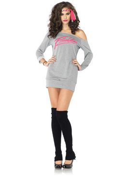 Flashdance Costume - Leg Avenue