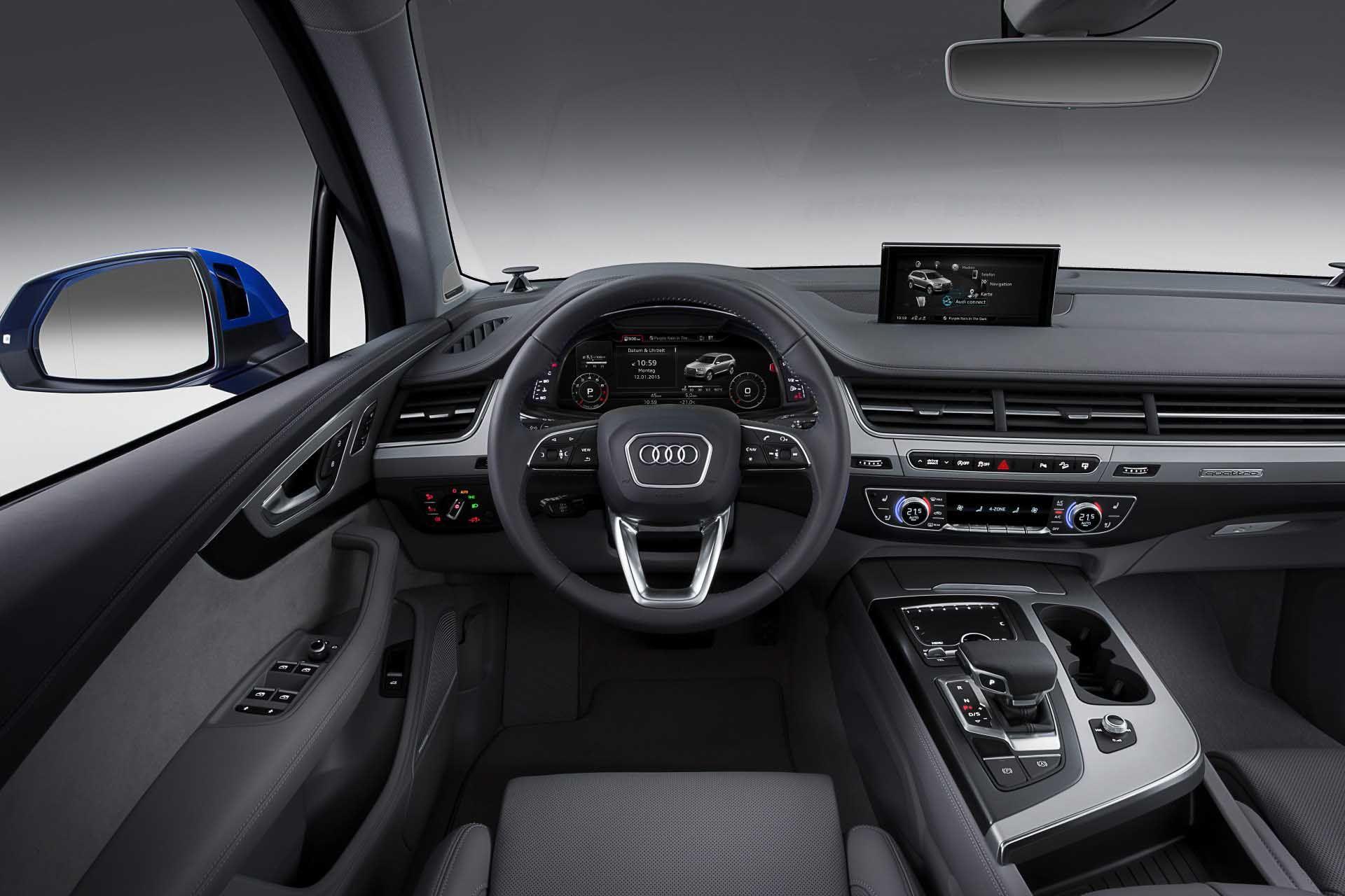 10 Beautiful Audi Q7 Interior Design Pics | Das Auto | Pinterest ...