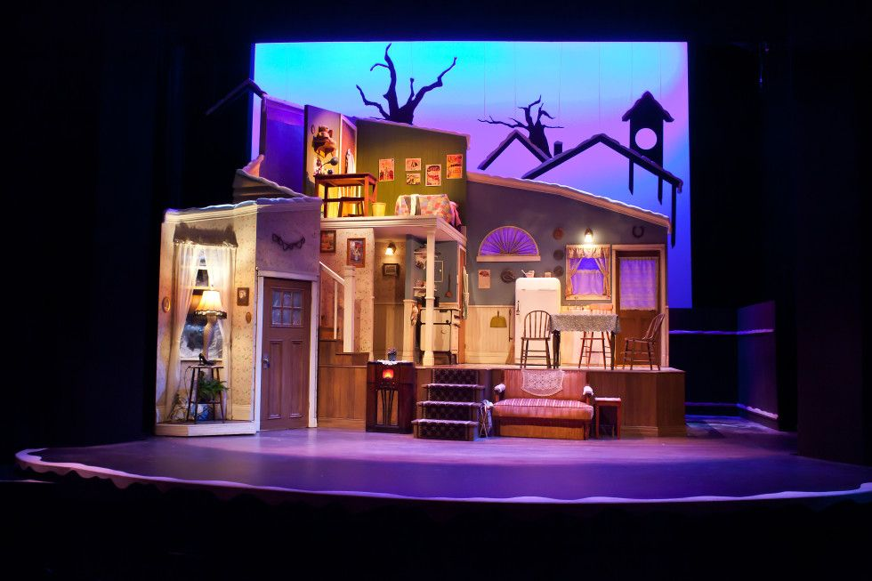 a christmas story neptune theatre scenic design by joanna yu - What Year Is Christmas Story Set