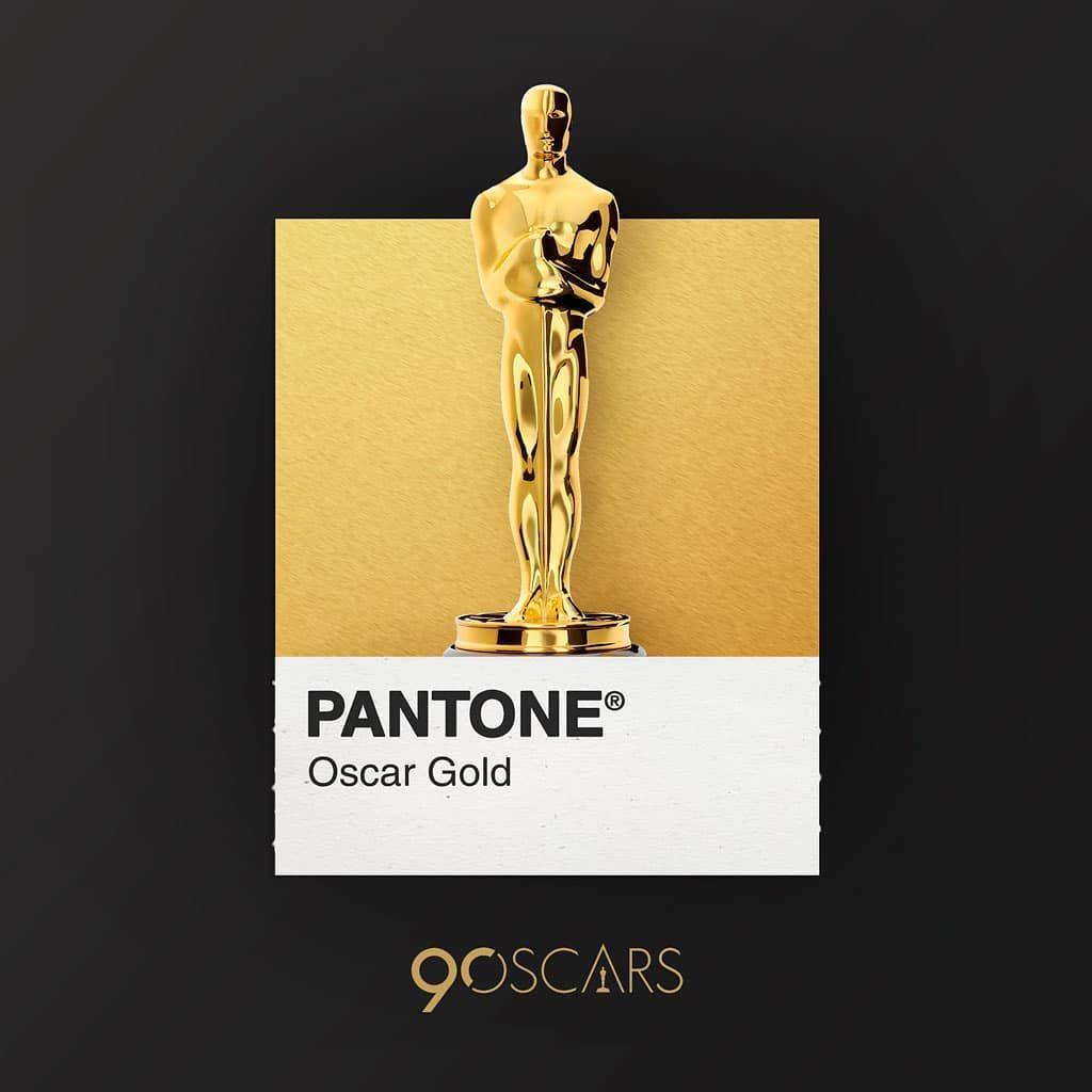 323 Likes 3 Comments Pantone Everyday Dearpantone On Instagram 90th Academy Awards 90thoscars Oscars Ac Pantone Gold Pantone Colour Palettes Pantone