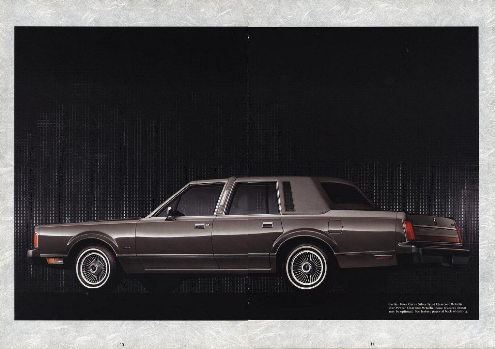 1989 lincoln continental town car models lineup [ 1600 x 1129 Pixel ]