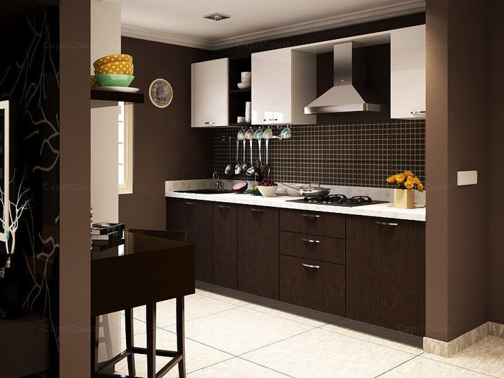T Shaped Modular Kitchen Designer in India - Call Bella Kitchens for ...