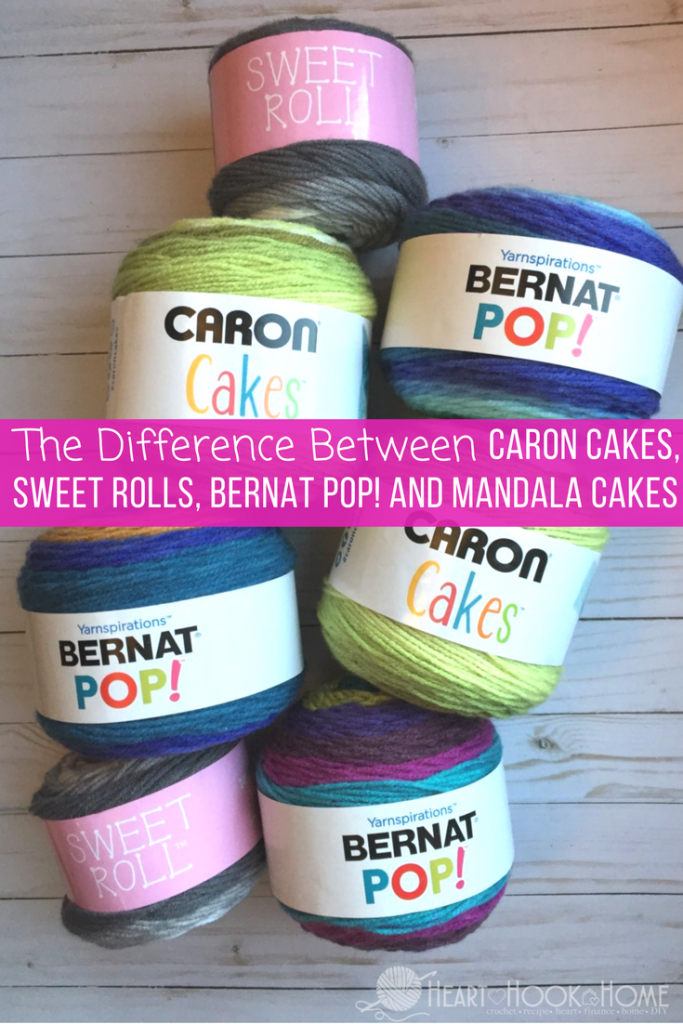 The Difference in the FOUR Major Yarn Cake Brands
