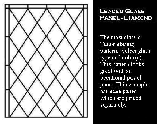 Diamond windows -Eleazer Arnold House WhatnotGems.com~love these ...