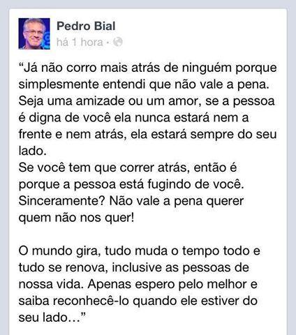 Pedro Bial Projetos Para Experimentar Quotes Words E Powerful Words