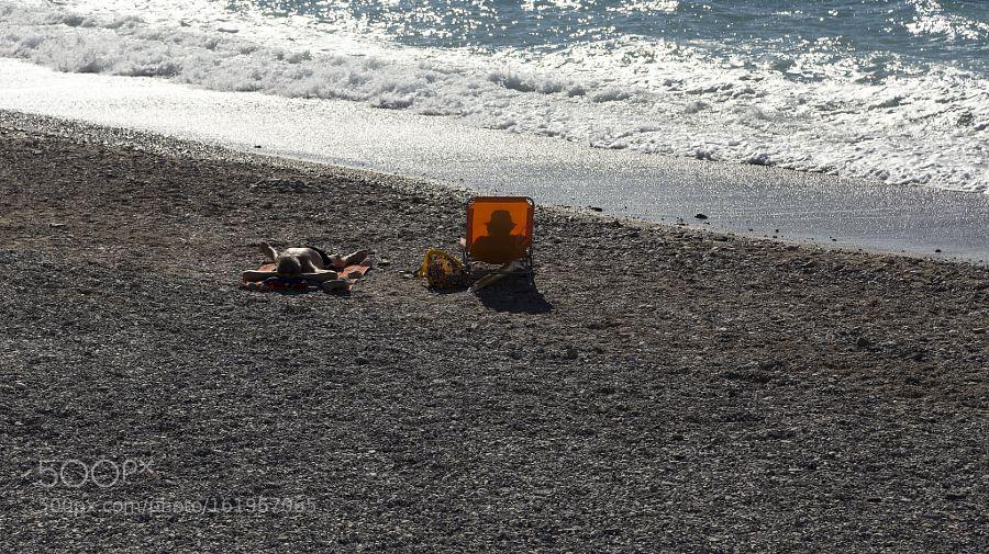 På stranden by lasseman