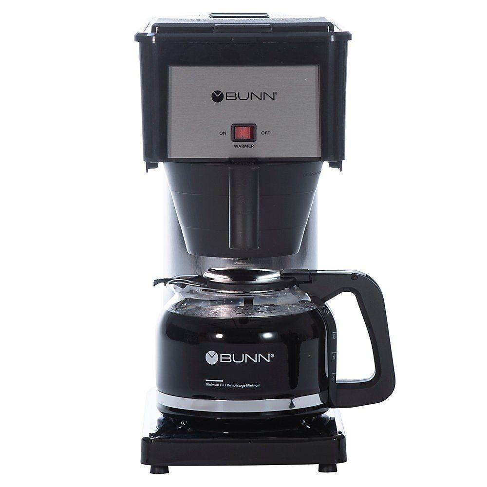 Bunn Bxb Speed Brew 10 Cup Coffeemaker Black Coffee Brewer