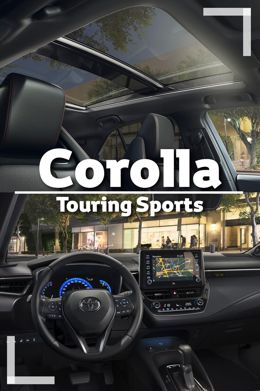 Der Corolla Touring Sports Auto S En Motoren Motor